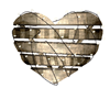 cels golden heart deco