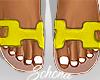 ṩOran Sandals Yel