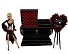 Vampire Couples Coffin