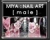 +vkz+ MIYA : nail art