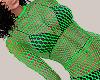 Green Net Top