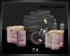 Tire Drums Set