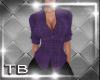 [TB] Gina Plaid Purple