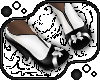 Bow Shoes -White'n'Black