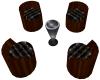 4 Club Chairs Ani