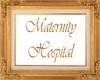 Maternity Hospital Sign