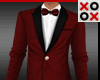 Short GQ Suit Red