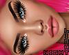 !N Kira mesh+Lashes+Brws