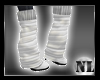 !N White Boots