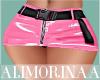 *A* Pink Pvc Skirt RL