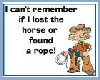 Horse Lost