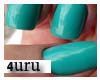4U. blue Nails