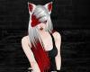 Silver/Red Demi