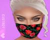 𝓔. Roses Mask