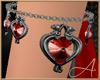 Gothic Hearts Bracelet L