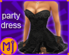 MJ Lace Dress Black