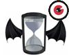 Bat Dance Hourglass