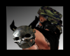 Metal Skull Pauldron's