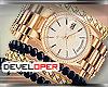 :D Gold Watch/Bracelet