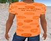 Ryans orange donut shirt