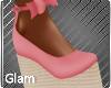 Peachy Dot Sandals