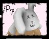 <Pp> White Bunny Bun