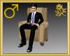 Plush Chair Avatar Male