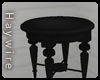 :BlackRoundSideTable