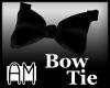 AMe Black Bow Tie