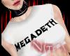 N | Megadeth W.Tee