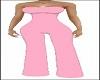 elegant Pink Pantsuit