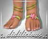 !D! Elena Feet Lime