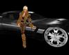 Killer Black Corvette
