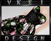 V' +Romantic Goth Dress+