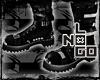 !N Emo Goth#boots