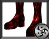 """Pvc Boots """" Red"""