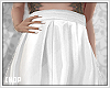 X! White Skirt