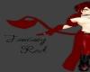 (RM)Red Fantasy skirt