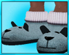 Mens Puppy Slippers