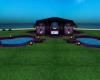 purple & black beach