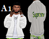 Male Supreme Lime Jacket