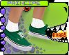 P. Green Kid Vans