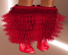 Red Fur Boots <3