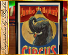 I~Circus Elephant Poster