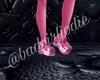 +$ bandgirl pink crocs