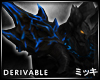 ! Blue Chaos Pauldron R