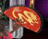 LS Red/Gold Dragon Fan