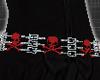 *Red belt skulls