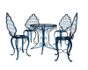 Outdoor Table Set/Blue