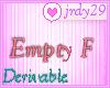 <J> Empty  F <>
